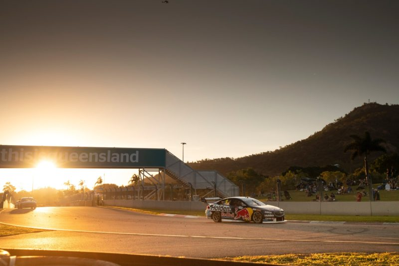 Supercars racing in Townsville