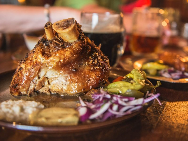 Bavarian comfort food throughout the duration of the event including in your price. Oktoberfest.