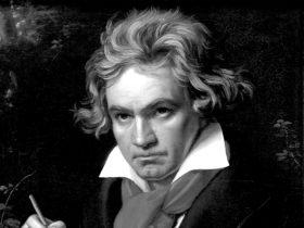 Composer Ludwig van Beethoven