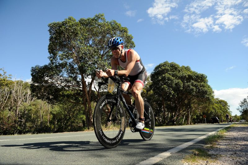 Straddie cycle leg