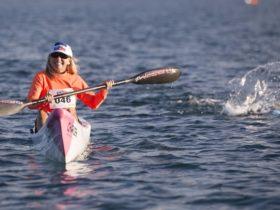 Paddler and Athlete 10 kilometre ocean swim.