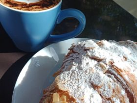 Delicious Coffee and pastries