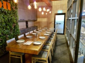 Icon Cookery School Dining Room