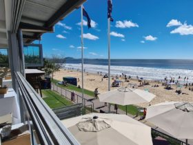 The Surf Club Mooloolaba Best view on the Coast