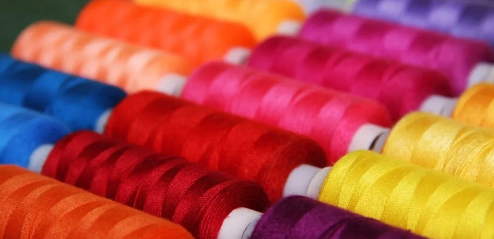 We have all the colours at Embroidery in Stitches