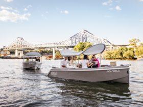 Explore beautiful Brisbane board GoBoat!