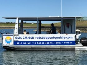 Rods BBQ Pontoon Hire
