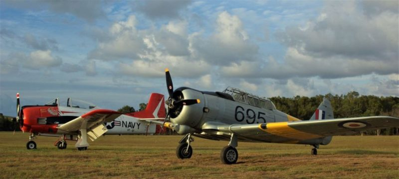 The Trojan was produced by the same company that built the mighty P-51 Mustang of WWII fame.