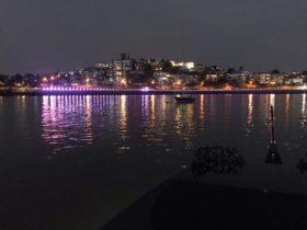 Evening magic on Brisbane River