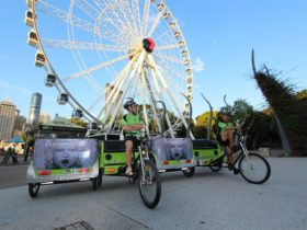 Green Cabs pedicab