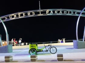 Green Cabs the best way to experience Surfers Paradise