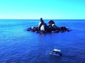 fishing snorkeling boat tour Magnetic island time cruises