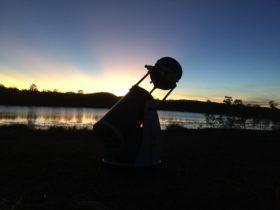 """12"""" Dobsonian telescope"""