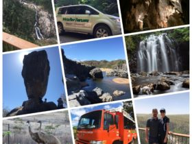 Our vehicles, our staff and out stunning locations. Wottaview Tours from Cassowary to Emu Country