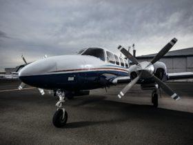 Brisbane Flight Charter Piper Chieftain VH-RPV