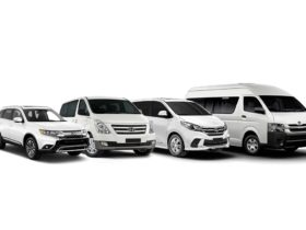 Range of fleet vehicles