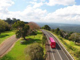 Travel to Sunshine coast, luxury coach travel