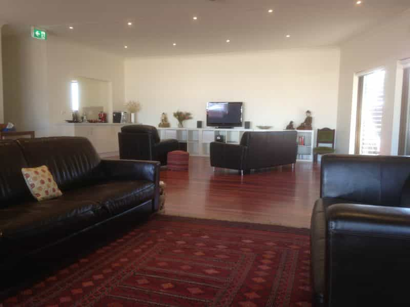 Large reception area available for guests use