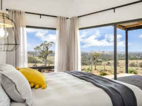 Amazing view from your king size bed!