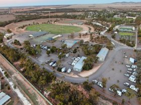 Aerial View of Recreation Reserve