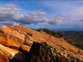 View from Devils Peak Summit