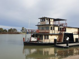 Captain Proud Moored at Dickson Reserve