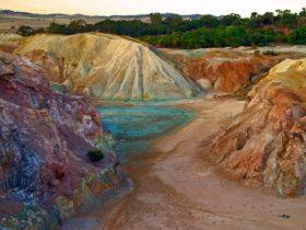Kapunda Mine Trail and Site