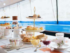 Popeye High Tea table setting