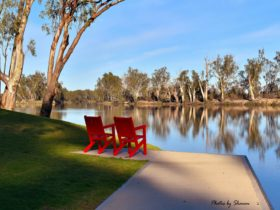 River Red Chairs