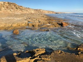 Back Beach Rock Pools