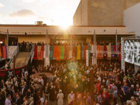 Crowd Gathered for Hotel Mumbai Opening Night Adelaide Film Festival
