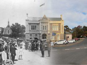 Angaston Town Hall 1920 & 2020