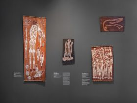 Converging Currents: Bark Painting from Arnhem Land, Art Gallery of South Australia, Adelaide