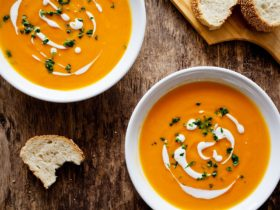 Promo photo of soups and bread