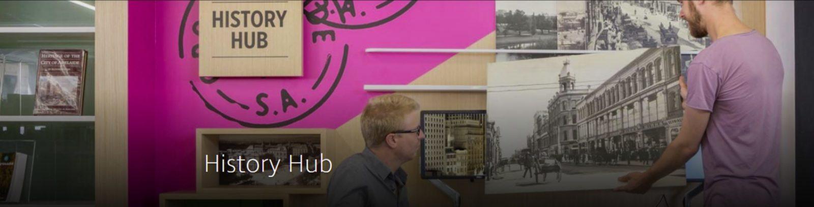 Adelaide City Library History Hub