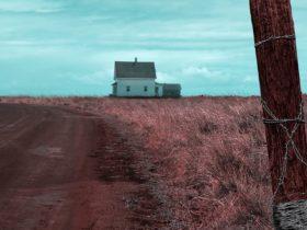 House in a feild