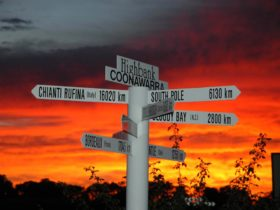 Highbank red wine regions sign