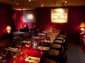 warm and inviting dining rooms with a cosy atmosphere and stunning artwork
