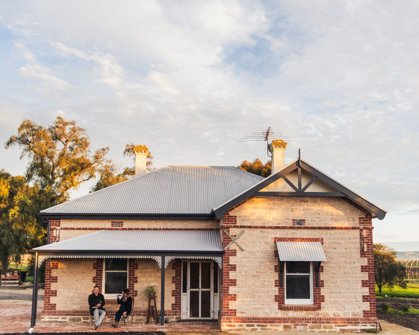 Lino Ramble Cellar Door situated in a little historic 3 roomed cottage
