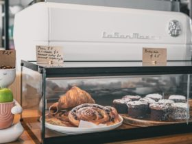 Fresh pastries are baked in house daily. Enjoy to have here or take away.