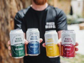 Pikes Beer Craft Brewery Beer Garden Clare Valley