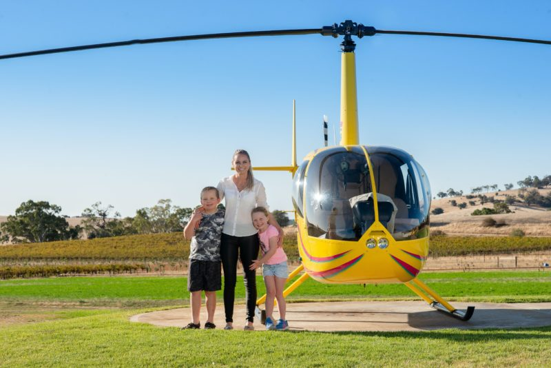 Helicopter flights at Barossa Helicopters