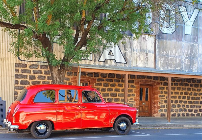 Beautiful old buildings and cellar doors, what a great way to experience The Barossaae