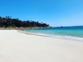 Emita Beach a short walk from the beach house