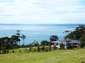 The House and view