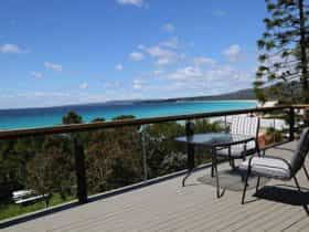 Driftwood Bay of Fires - View from deck