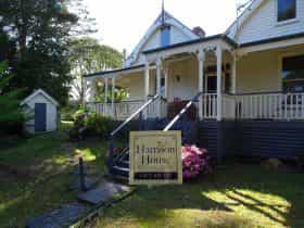 Harrison House Front Elevation