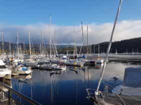 Kettering Marina- 3 mins away