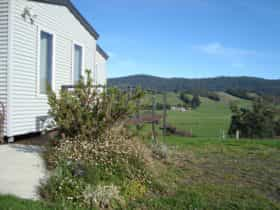 Peaceful certified organic farm retreat