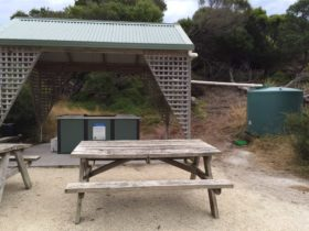 free gas barbecue at Allport Beach Flinders Island Tasmania